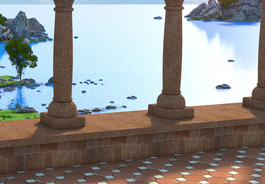 Environnement de paysage classique royalty-free 3d model - Preview no. 6