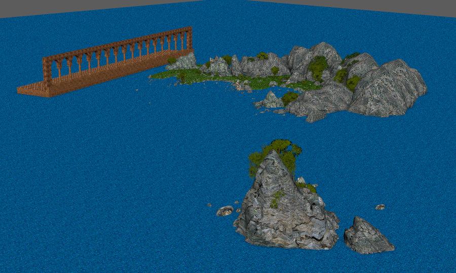 Environnement de paysage classique royalty-free 3d model - Preview no. 20