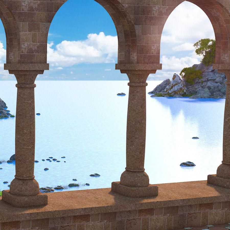 Environnement de paysage classique royalty-free 3d model - Preview no. 7