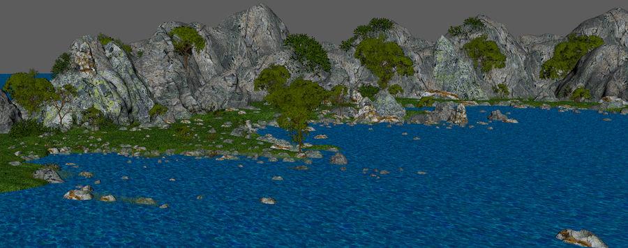 Environnement de paysage classique royalty-free 3d model - Preview no. 14