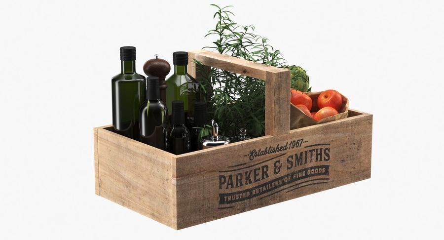 Kitchen Accessories royalty-free 3d model - Preview no. 5