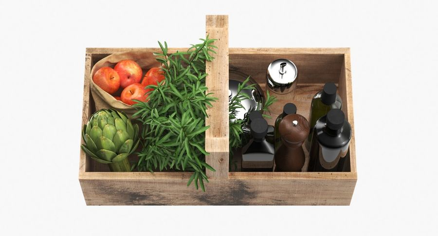 Kitchen Accessories royalty-free 3d model - Preview no. 4
