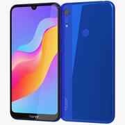 Honor 8A Blue 3d model