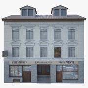 Gevel gebouw 3d model