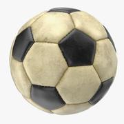 Dirty Soccer Ball 3d model
