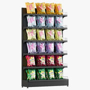 Popcorn Shelving 2 3d model