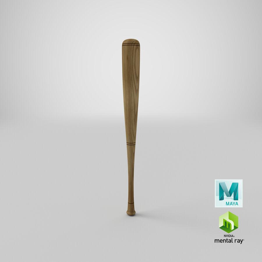 Baseball Bat royalty-free 3d model - Preview no. 13