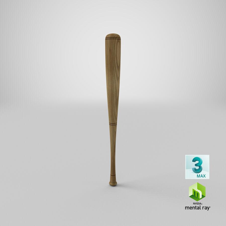 Baseball Bat royalty-free 3d model - Preview no. 15