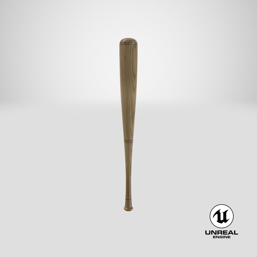 Baseball Bat royalty-free 3d model - Preview no. 16