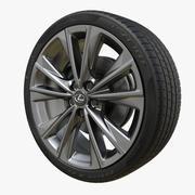 Wheel Lexus ES 2019 3d model