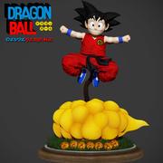 Сон Гоку Zbrush Dragon Ball 3D рисунок 3D модель 3d model
