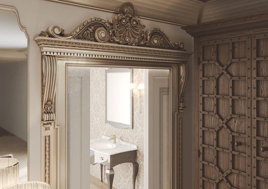 Intérieur Classic Gold royalty-free 3d model - Preview no. 4