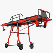 救急車のトロリー01 3d model