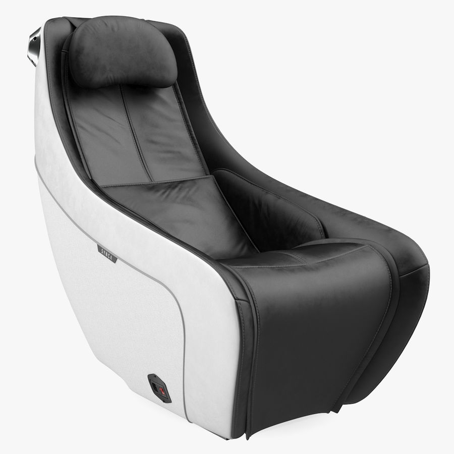 Synca Wellness Massage Chair Black royalty-free 3d model - Preview no. 1