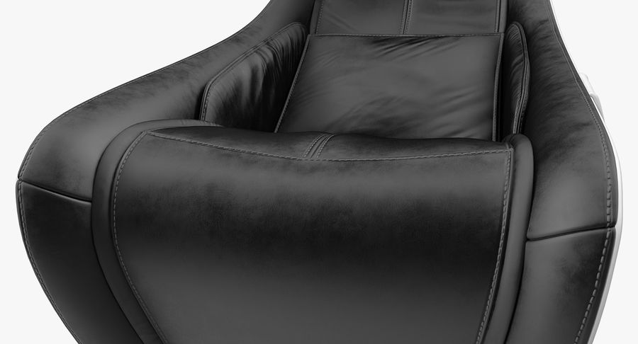Synca Wellness Massage Chair Black royalty-free 3d model - Preview no. 11