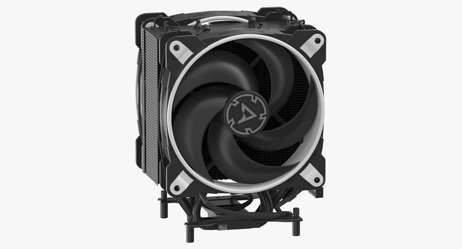 CPU Fan royalty-free 3d model - Preview no. 2