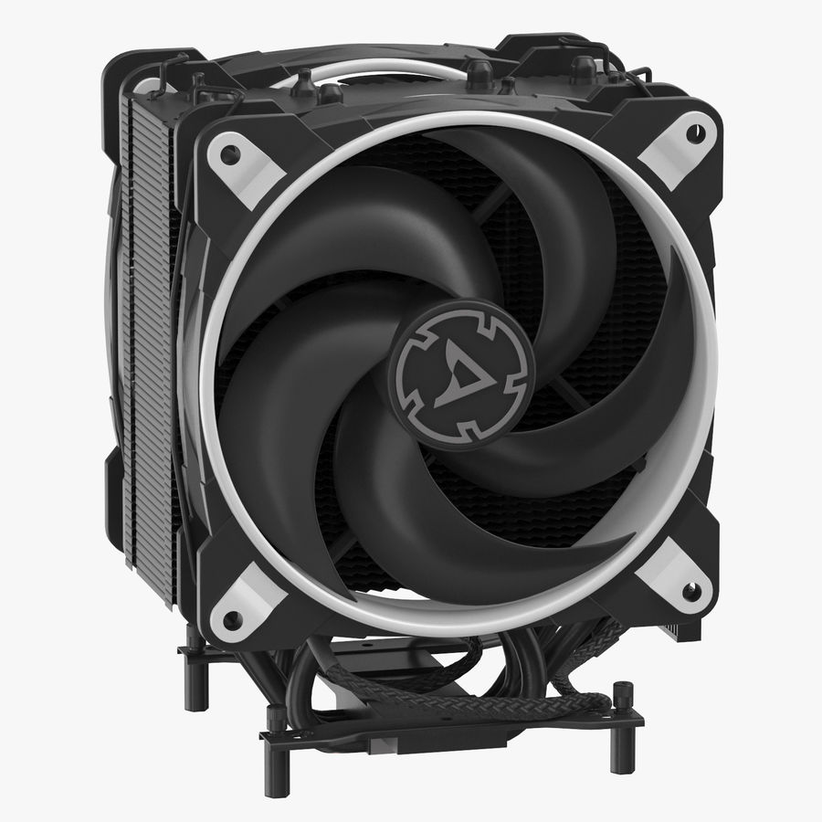 CPU Fan royalty-free 3d model - Preview no. 1