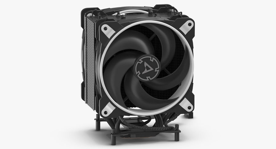 CPU Fan royalty-free 3d model - Preview no. 3