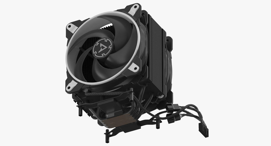 CPU Fan royalty-free 3d model - Preview no. 9