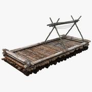 Wooden 3D Modèle 3D 3d model
