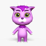 Cartoon Goat - Modello di gioco mobile 3d model