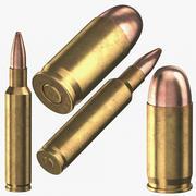 弾丸45 mm 3d model