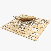 甲虫激光切割动画 3d model