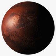 Model fotorealistyczny Marsa 3d model