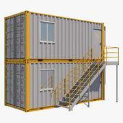 集装箱舱2 3d model