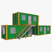 集装箱舱3 3d model