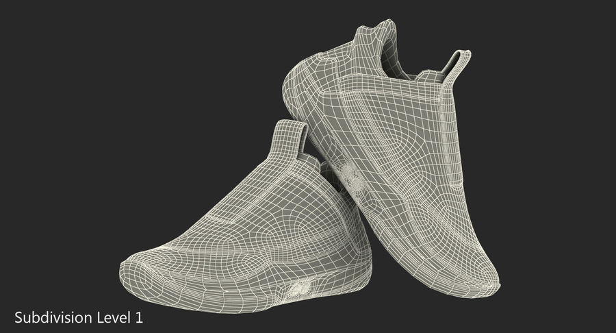 Nike Adapt BB Sneakers royalty-free 3d model - Preview no. 19