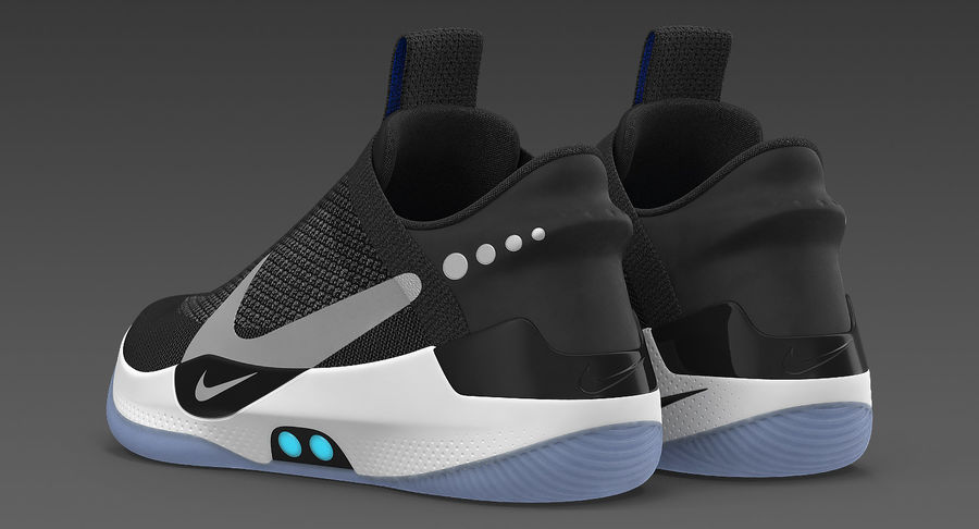 Nike Adapt BB Sneakers royalty-free 3d model - Preview no. 6