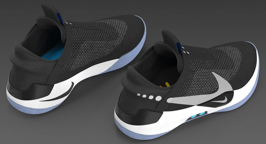 Nike Adapt BB Sneakers royalty-free 3d model - Preview no. 7