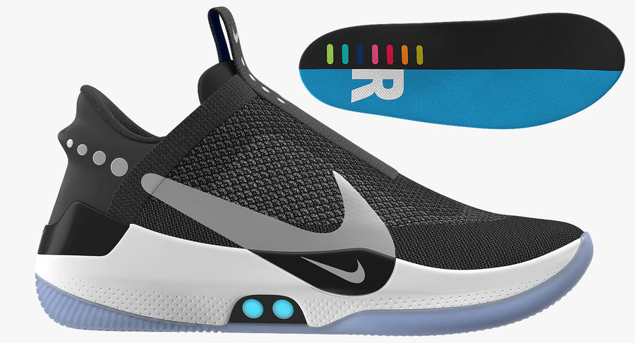 Nike Adapt BB Sneakers royalty-free 3d model - Preview no. 14