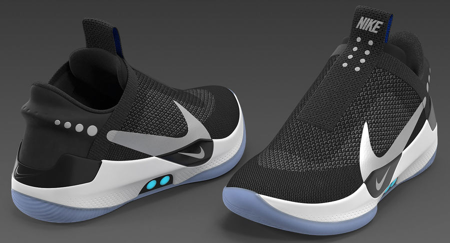 Nike Adapt BB Sneakers royalty-free 3d model - Preview no. 8