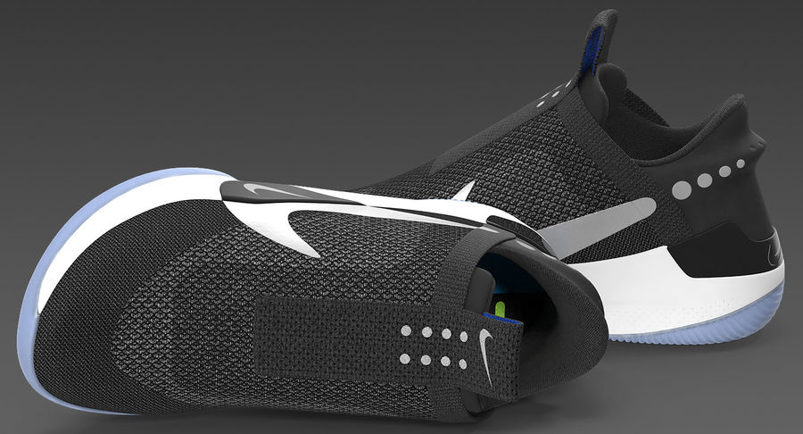 Nike Adapt BB Sneakers royalty-free 3d model - Preview no. 11