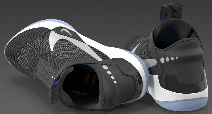 Nike Adapt BB Sneakers royalty-free 3d model - Preview no. 10