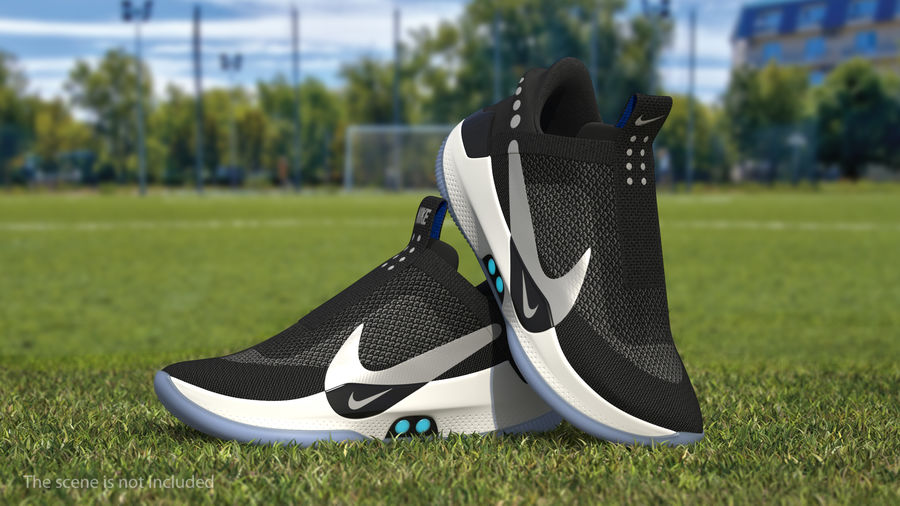 Nike Adapt BB Sneakers royalty-free 3d model - Preview no. 3