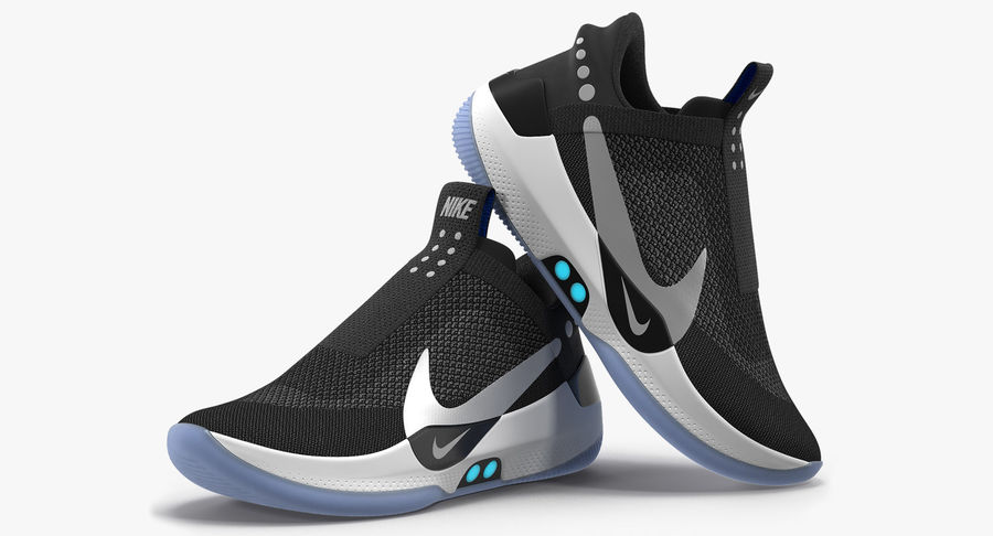 Nike Adapt BB Sneakers royalty-free 3d model - Preview no. 2