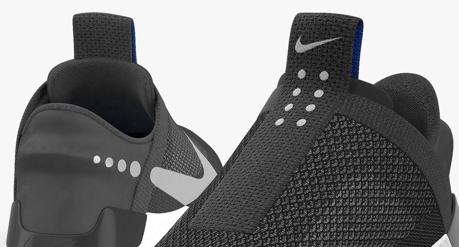 Nike Adapt BB Sneakers royalty-free 3d model - Preview no. 16