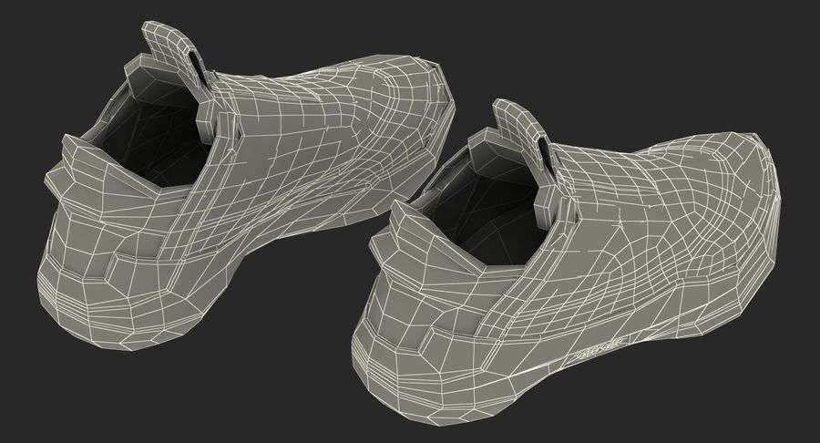 Nike Adapt BB Sneakers royalty-free 3d model - Preview no. 26