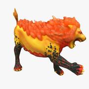 Lion Sculpture Cleaned up 01 3d model