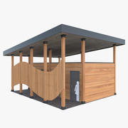 Öffentliche Toilette im Freien 3d model