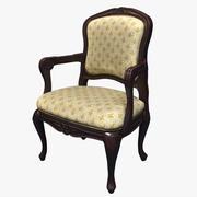 维多利亚时代的扶手椅 3d model