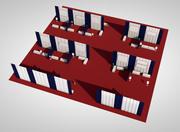 vendor area 3d model