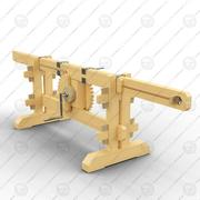Rotary-straight motion 3d model