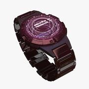 Sci Fi Hologramm Uhr 3d model