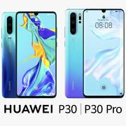 Huawei P30 Pro e Huawei P30 3d model