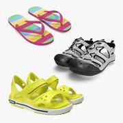 Sandaler 3D Models Collection 3d model