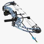 Compound Bow Generic Modèle 3D 3d model